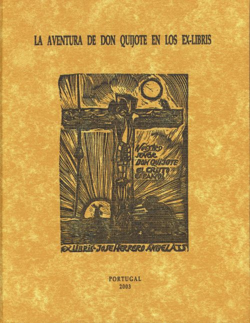 'Don Quijote Adventure's in the ex-libris'