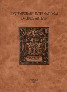 Contemporary International Ex-Libris Artists, n°12. In copertina, ex libris di Gordon Pacpherson per Robert Douglas Watt