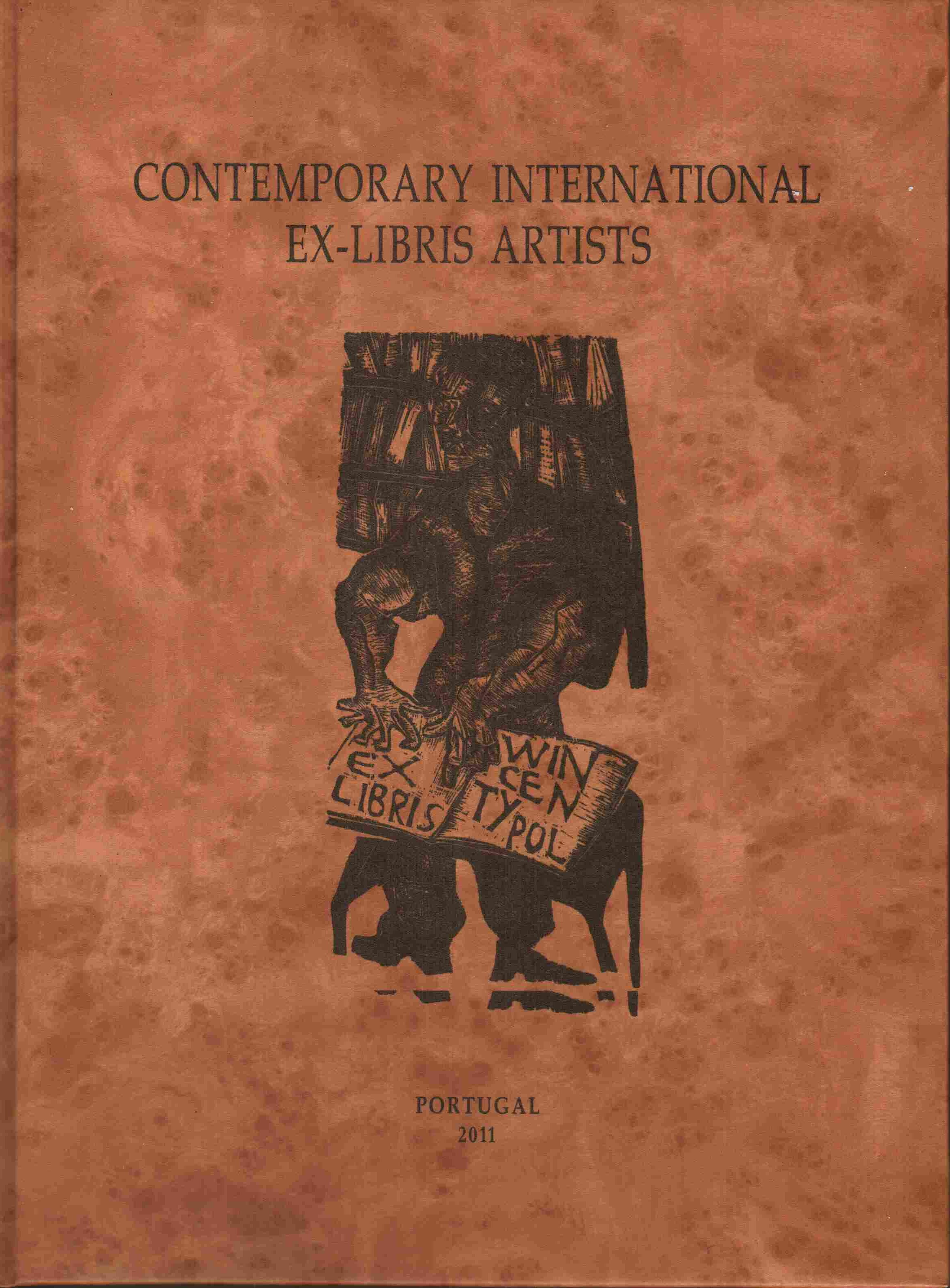 Contemporary International Ex-Libris Artists, n°14. In copertina, ex libris di Marcos Varela per Wincenty Pol, X2, 2007.