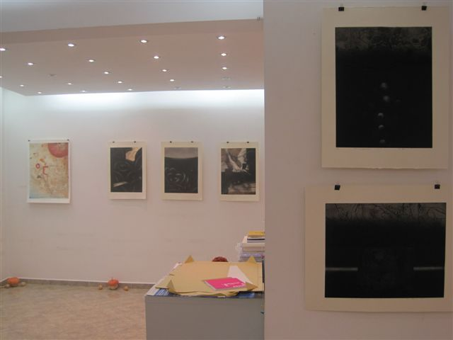 Lessedra. General view of works of Toshimi Kitano, Mitsuko Ikeuchi and Miwako Oso